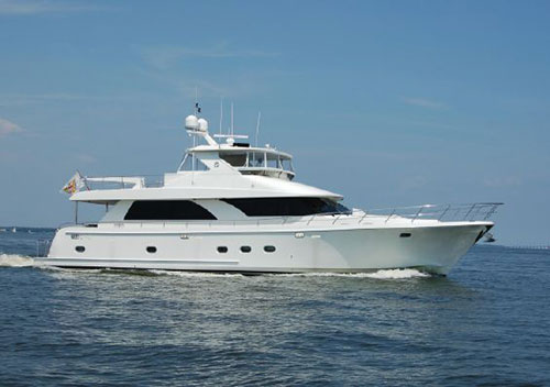 2011 74' Ocean Alexander Open Flybridge